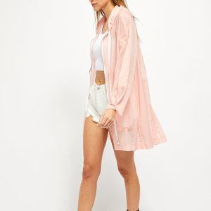 NWT Free People Callie Poncho / Candyland